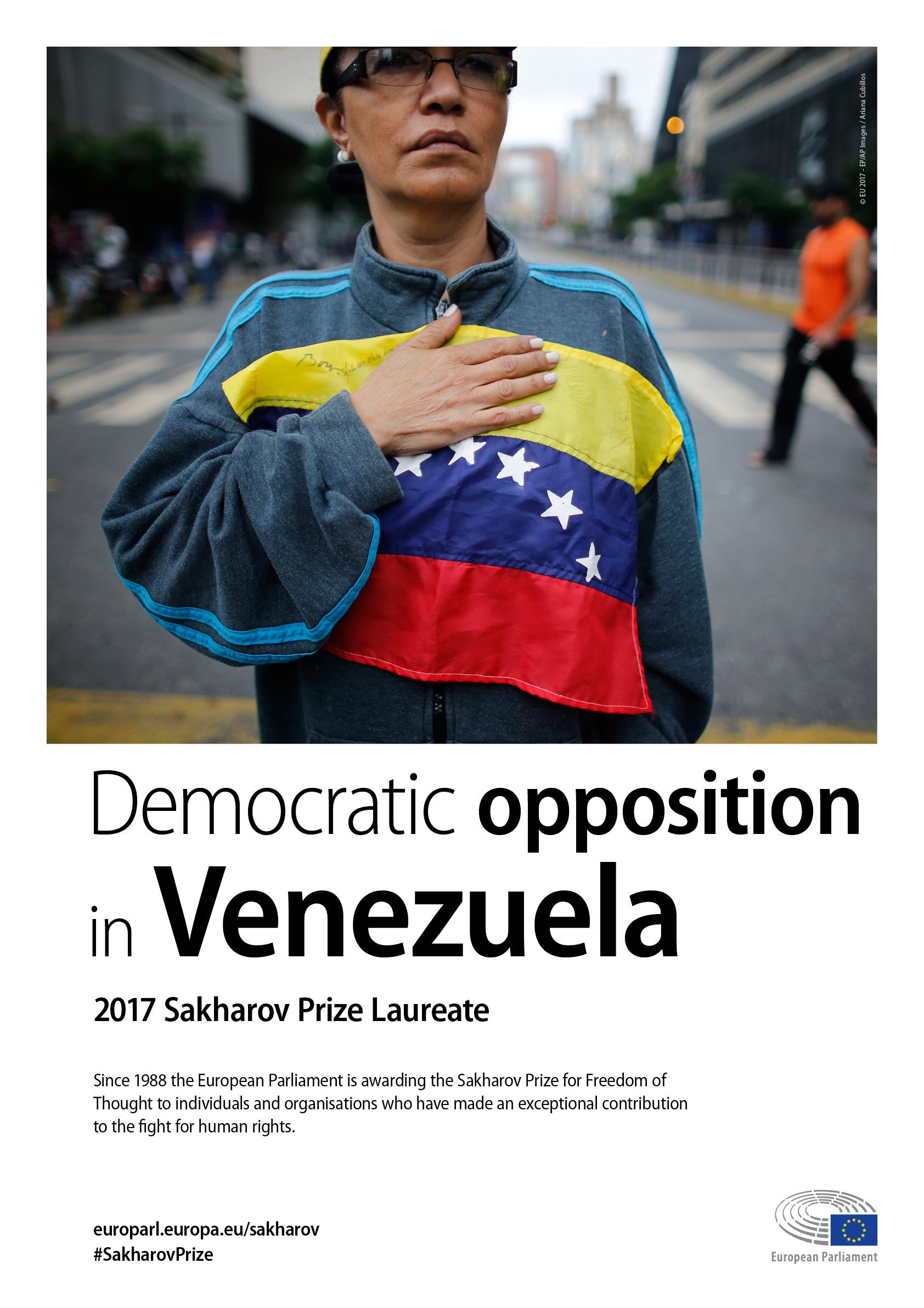 Sakharov Prize 2017 poster