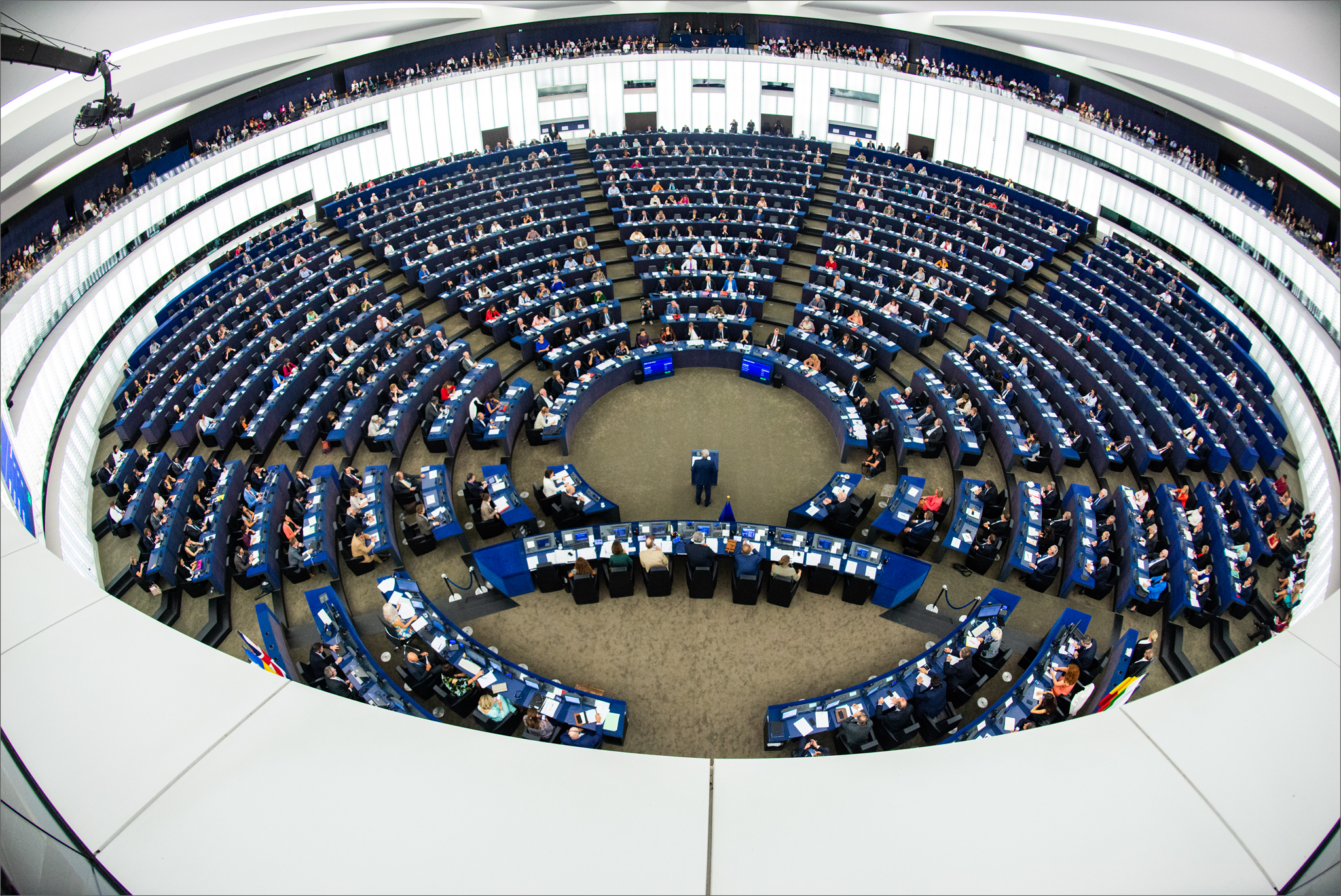 Hemicycle in Strasbourg