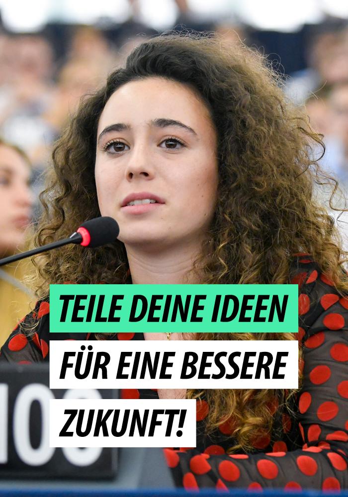 Ideenwebsite der europäischen Jugendlichen