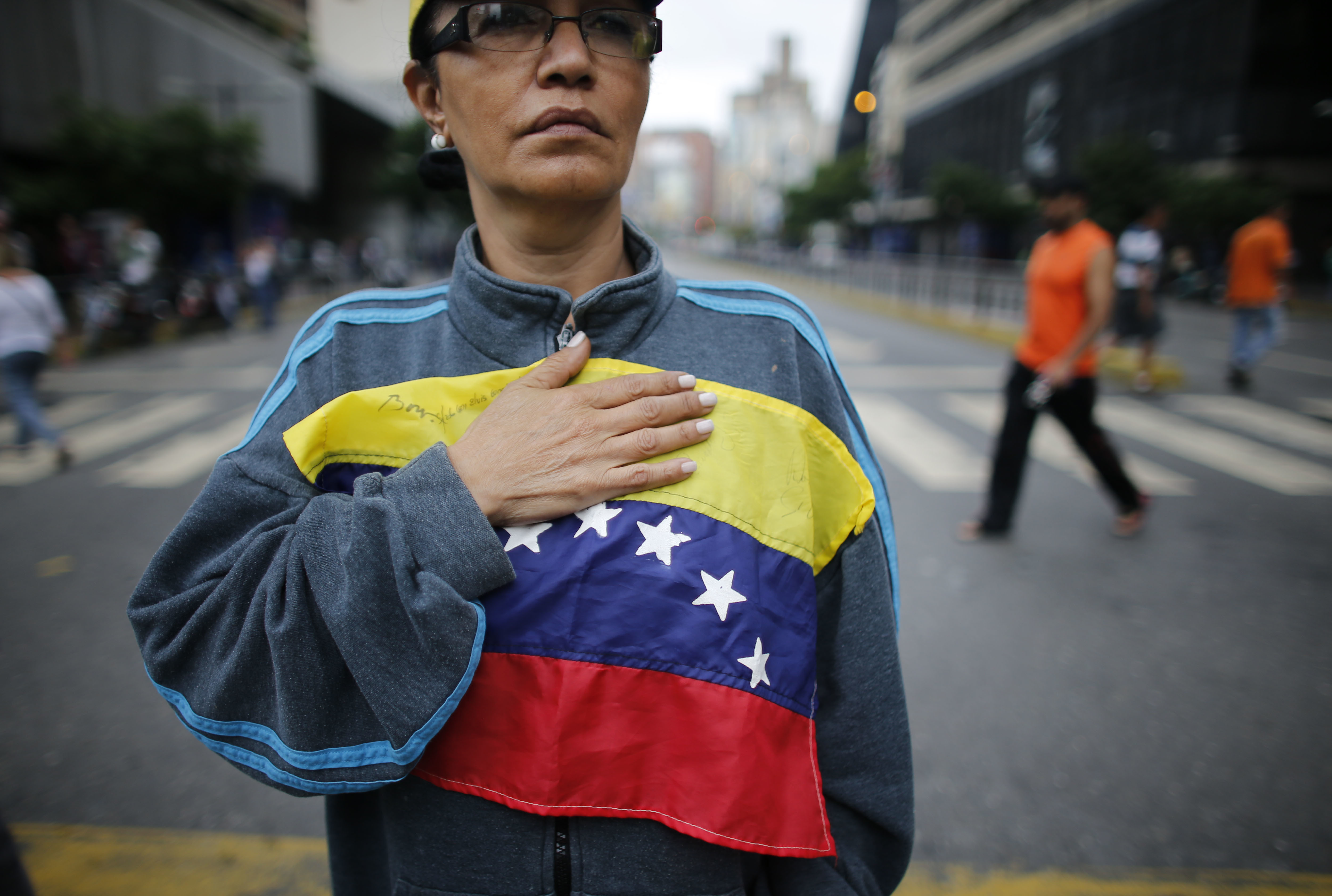 Democratische oppositie in Venezuela, winnaar van de Sacharovprijs voor de vrijheid van denken 2017
