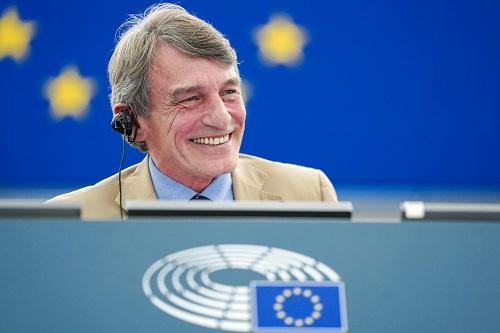 Portrait of President Sassoli