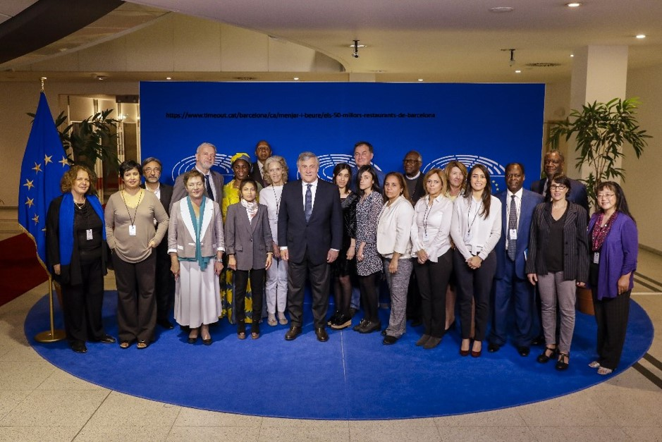 Sakharov Prize Network laureates with President Tajani photo