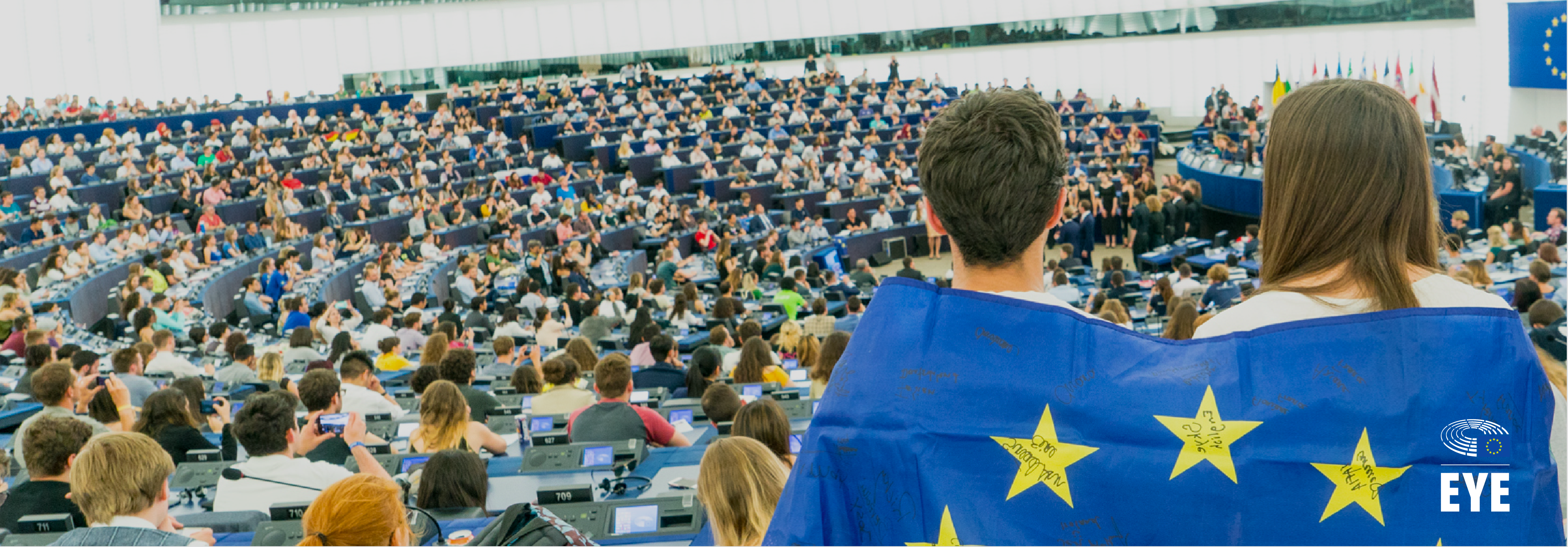 Participants at the European Youth Event