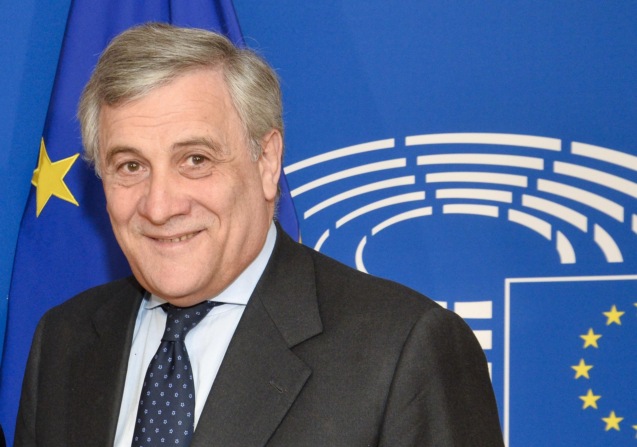 Portrait of President Tajani